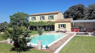 Provenzalisches, klimatisiertes Landhaus mit privatem Pool