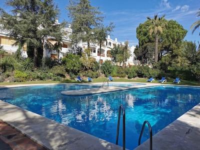 Los Arqueros Golf & Country Club, Benahavís, Andalusië, Spanje