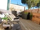 Terrasse au soleil 25 m² - Local fermé pour les vélos (très pratique)