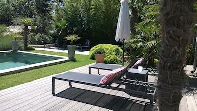 """The House of Casarie"" Orangerie mit Garten, Pool, Komfort"