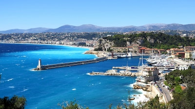 Port de Nice, photo touristique.