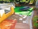 jardin /douche extérieure