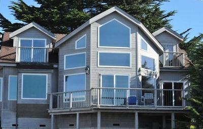 View of home from the ocean!