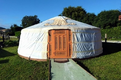 Yurt / Ger - Wacky Stays, Kaikoura, NZ