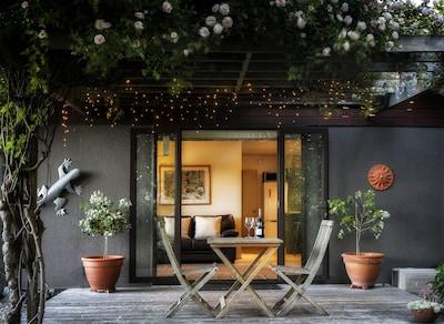 Oka Cottage deck entrance