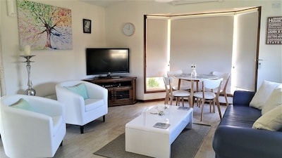 lounge room of cottage