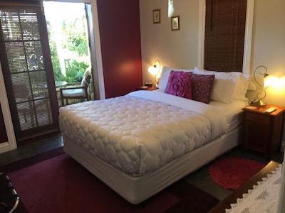 Bedroom looking to Garden