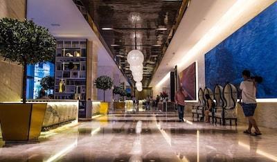 Shared Hotel Lobby