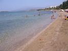 the beach of the villas