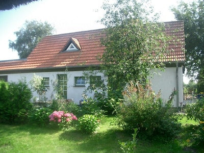 Gartenansicht-Eingang