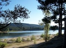 Der See Saint Ferréol 5 min. von hier