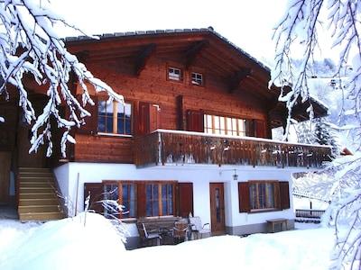 Küblis Station, Kublis, Graubuenden, Switzerland