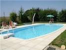 The heated 10 x 5 m pool