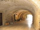 Vaulted passageway in Peratallada