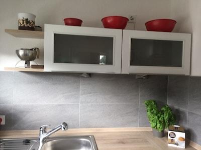 Einfach schön, die neue Küche