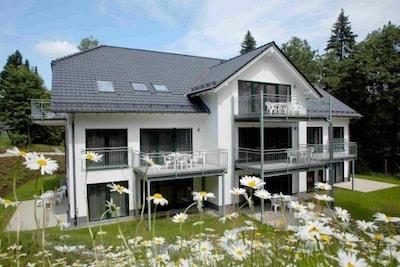 Idyllisches Ferienhaus, Wohnung ca. 108 m² groß, am Rothaarsteig gelegen