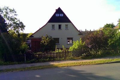 Familien-Ferienhaus für 8 Personen im Naturpark Mecklenburgische Schweiz.