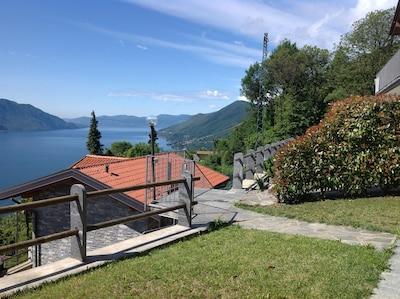...über dem Lago Maggiore...