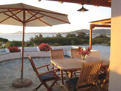 Terrace devant la cuisine