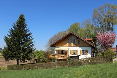 """Gartenwohnung: Ferienwohnung """"Landhaus Alpenblick"""""""