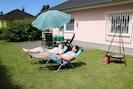 relaxen im eigenen Garten