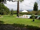 vue du jardin piscine