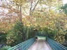 le pont qui conduit à l'île