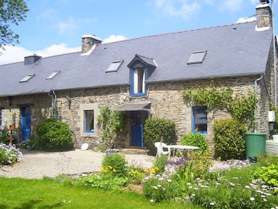 Le Boterff Gites and Camping, a tranquil haven set in wonderful gardens.