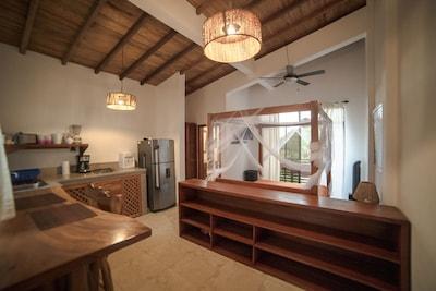 Studio full furnished in Ayampe