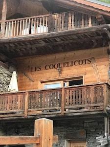 Sci Les Arcs: chalet di charme in posizione idilliaca a pochi minuti dalla seggiovia