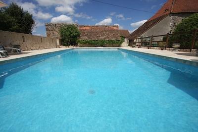 Stunning brand new 12m x 6m pool