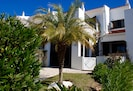 Quinta Amora's front garden and house entrance...Welcome!