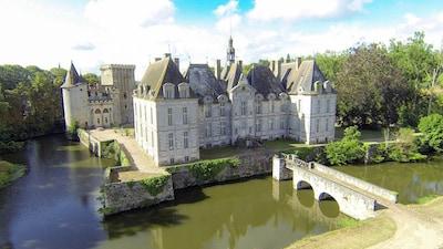 Château de Saint-loup sur Thouet - Deux Sèvres - France - Nouvelle Aquitaine