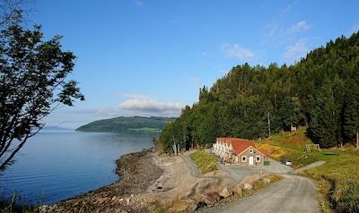 Ronglan Station, Levanger, Trøndelag, Norway