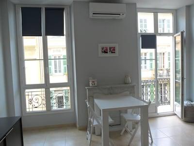 Pièce à vivre  En haut climatiseur