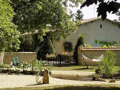 Paizay-le-Tort, Melle, Deux-Sevres, France