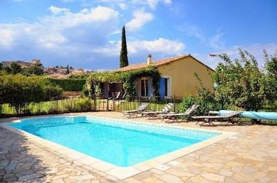 Maison avec piscine individuelle