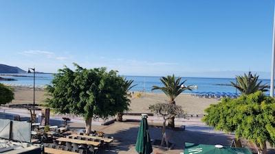 Plage de Las Vistas, Arona, Iles Canaries, Espagne