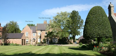 The Vestry is a spacious 3 bedroom property with lots of outside space.
