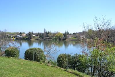 vue sur la riviere tarn
