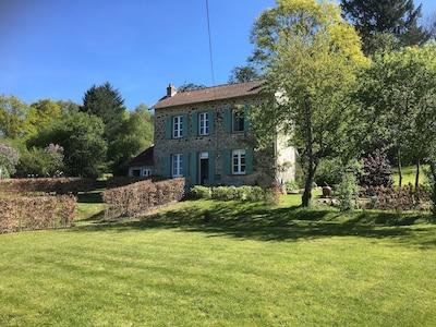 Augne, Haute-Vienne (département), France