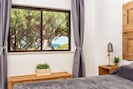 Master room with nature and sea views