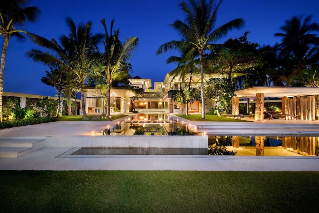 Beachfront Villa Bali Luxury Holiday Wedding Venue Private Event Bukit