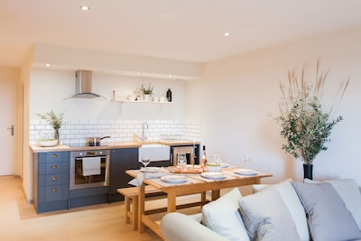 Gite kitchen/ Lounge space