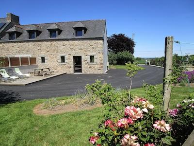 Lanhouarneau, Département du Finistère, France