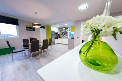 Casa muy cómoda y tranquila en Vilanova de Arousa.