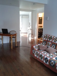 Very nice T2 of 70m2 near City Center, near Atwater market and Lachine canal