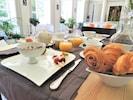 Des petits déjeuners fait maison ou local et essentiellement bio
