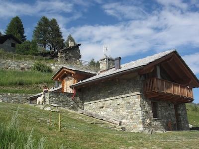 A Saint-Barthélemy casa di montagna fra natura e stelle