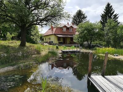 Lázbérci Víztározó, Dédestapolcsány, Borsod-Abauj-Zemplen, Hungary